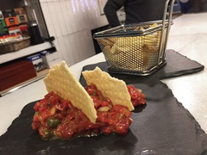 Steak Tartar de Vaca Frisona laCava.bar