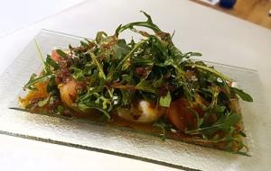 Burrata con ensalada laCava.bar