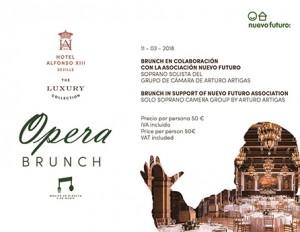 Opera Brunch Hotel Alfonso XIII