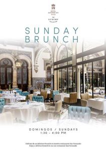 Sunday Brunch Hotel Alfonso XIII