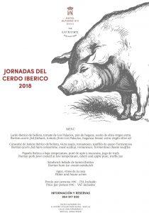 Jornadas del Cérdo Ibérico Hotel Alfonso XIII