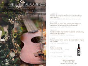 Menú Bienal de Flamenco