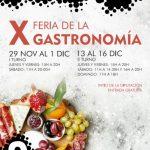 X Feria de la Gastronomía