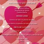 Menú San Valentín Gourmet Experience